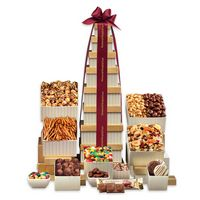 706335049-117 - Golden Delights Giant Party Tower - thumbnail