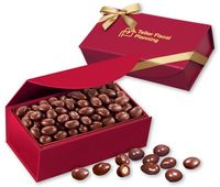 734470790-117 - Chocolate Covered Almonds in Scarlet Magnetic Closure Box - thumbnail