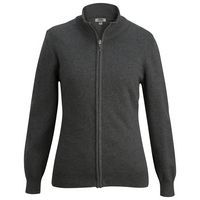 105989041-822 - Edwards Ladies' Full Zip Cardigan Sweater - thumbnail