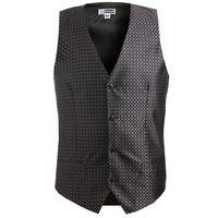 514203348-822 - Edwards Men's Grid Brocade Vest - thumbnail