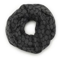 565617514-822 - Redwood & Ross® Tone-On-Tone Circles Infinity Scar - thumbnail