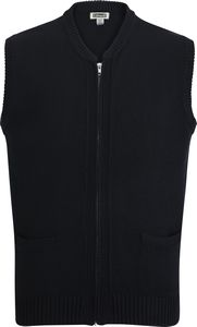 586499753-822 - Heavyweight Acrylic Full Zip Vest - thumbnail