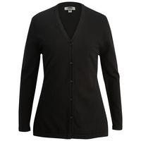 975989038-822 - Shirttail Cotton Cardigan - thumbnail