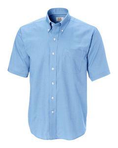 144494125-106 - Men's Cutter & Buck® Epic Easy Care Nailshead S/S Dress Shirt (Big & Tall) - thumbnail