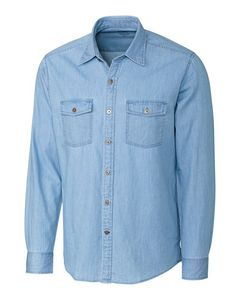 146457192-106 - L/S Equinox Denim Shirt Big & Tall - thumbnail