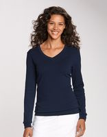 175260796-106 - Ladies' Cutter & Buck® Lakemont V-Neck Sweater - thumbnail