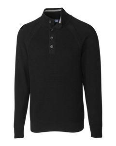 316128202-106 - Reuben Button Mock Sweater - thumbnail