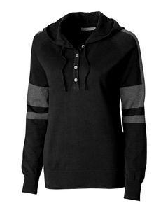 316457086-106 - Kate Hooded Henley Sweater - thumbnail