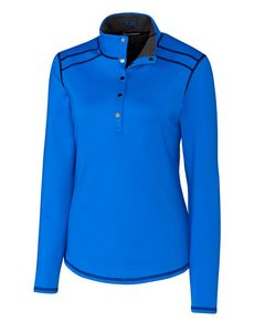 355436673-106 - Ladies' Cutter & Buck® Evergreen Reversible Overknit Shirt - thumbnail