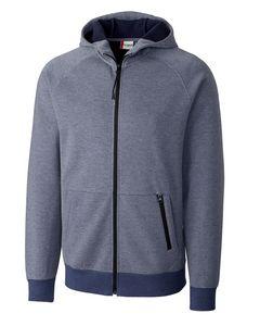 364203291-106 - Men's Clique® Lund Fleece Zip Hoodie - thumbnail
