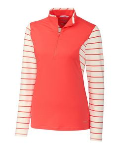 366028262-106 - Sun-Up Stripe 1/2 Zip Long Sleeve - thumbnail