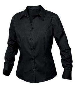 376247923-106 - Clique Ladies' Long Sleeve Caitlin Twill Shirt - thumbnail