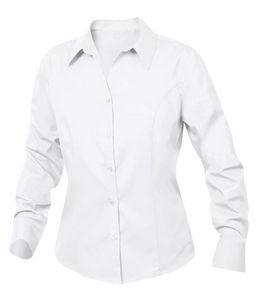 393186586-106 - Ladies' Clique® Caitlin Twill Long-Sleeve Dress Shirt - thumbnail