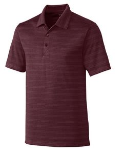 535260816-106 - Men's Cutter & Buck® Interbay Melange Stripe Polo Shirt - thumbnail