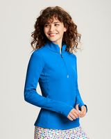 545705882-106 - Cutter & Buck Ladies Traverse Half Zip - thumbnail