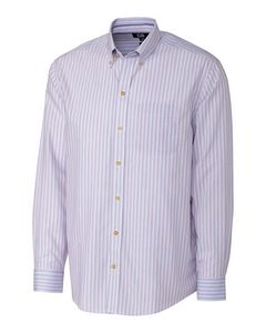 556361132-106 - B&T L/S Cypress Wrinkle Free Stripe Big & Tall - thumbnail