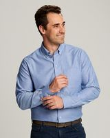 725705949-106 - Cutter & Buck Tailored Fit Long Sleeve Stretch Oxford - thumbnail