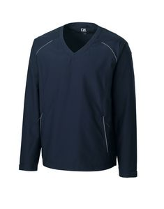 734494154-106 - Men's Cutter & Buck® WeatherTec™ Beacon V-Neck Jacket (Big & Tall) - thumbnail