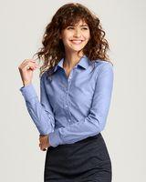 735705815-106 - Ladies' Cutter & Buck® Long-Sleeve Oxford Shirt - thumbnail