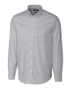 956112648-106 - Stretch Oxford Stripe Shirt Big & Tall - thumbnail