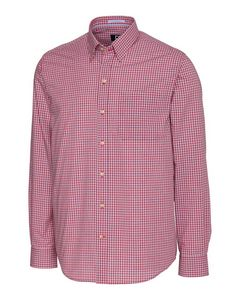956153530-106 - Men's L/S Wrinkle Free Cimarron Check - thumbnail