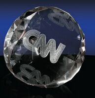 173149413-142 - Wedge Shaped Paperweight - thumbnail