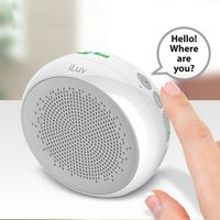 185684185-142 - iLuv Aud Shower Water Resistant Bluetooth Speaker with Hands-Free - thumbnail