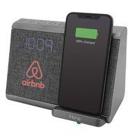 326226881-142 - iHome Bluetooth Dual Alarm Clock With Wireless Charging, Speakerphone & USB Charging - thumbnail