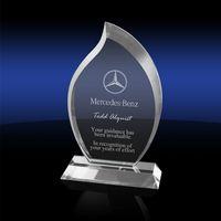 905305546-142 - Flame Express Crystal Award - Medium - thumbnail