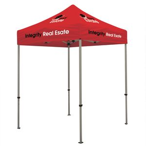 104576112-108 - Deluxe 6' Tent Kit (Full-Color Imprint, 8 Locations) - thumbnail