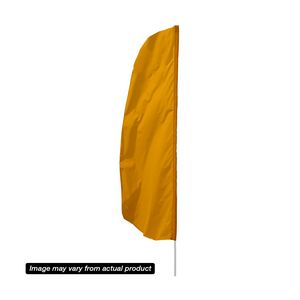 196151132-108 - 10' Solid-Color Stadium Flutter Flag Replacement Flag - thumbnail