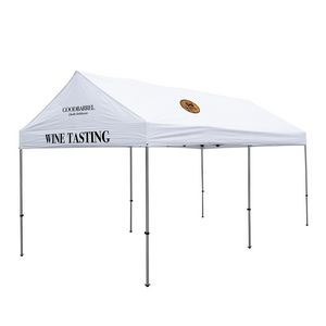 306185568-108 - 10' x 20' Gable Tent Kit (Full-Color Imprint, 3 Locations) - thumbnail
