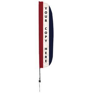 316188602-108 - 12' Custom Message Stadium Flutter Flat Kit Single-Sided  - thumbnail