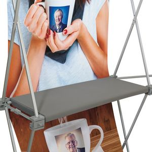 324021957-108 - Deluxe GeoMetrix Gray Shelf - thumbnail