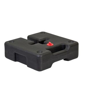 324290846-108 - Square Plastic Water Weight for Event Tent Legs - thumbnail