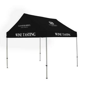 356188583-108 - 10' Premium Gable Tent Kit 8 Location Full-Color Imprint - thumbnail
