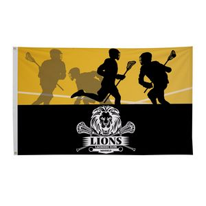 372023385-108 - Polyester Flag (Double-Sided) - 3' x 5' - thumbnail