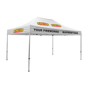 375009824-108 - Premium Aluminum 15' Tent Kit (Imprinted, 5 Locations) - thumbnail