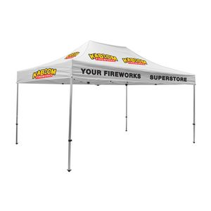 375009829-108 - 15' Premium Tent Kit (Imprinted, 10 Locations) - thumbnail