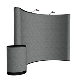 393148461-108 - 10' Curved ARISE Floor Display Kit (Fabric)<br> - thumbnail