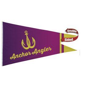 396058175-108 - Nylon Burgee Flag (Double-Sided) - 6' x 10' - thumbnail