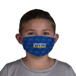 396334687-108 - Imprinted Jr Face Cover with Elastic Ear Loops  - thumbnail