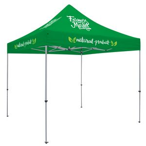 503728372-108 - Deluxe 10' Tent Kit (Full-Color Imprint, 7 Locations) - thumbnail