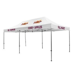 505009837-108 - Premium Aluminum 20' Tent Kit (Imprinted, 5 Locations) - thumbnail
