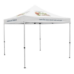 554032454-108 - Premium 10' Tent, Vented Canopy (Imprinted, 5 Locations) - thumbnail
