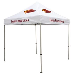 564574153-108 - Deluxe 8' Tent Kit (Full-Color Imprint, 6 Locations) - thumbnail