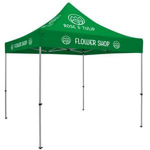 593728708-108 - Premium Aluminum 10' Tent Kit (Imprinted, 8 Locations) - thumbnail
