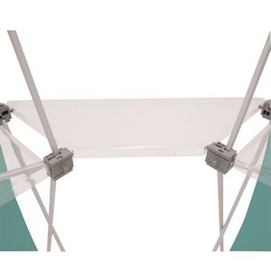 595565955-108 - Deluxe GeoMetrix Clear Connector Shelf - thumbnail