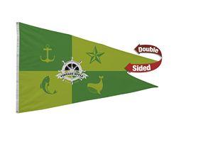 596058173-108 - Nylon Burgee Flag (Double-Sided) - 4' x 6' - thumbnail