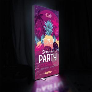706448909-108 - 3' x 6.5' Fusion Glo Display Kit - thumbnail